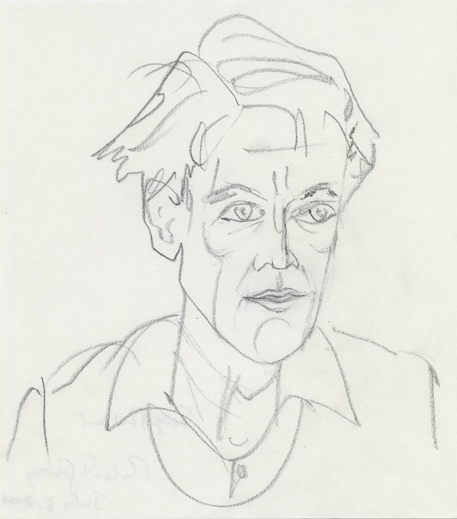 Self Portrait 2009, pencil